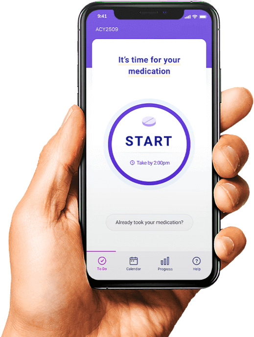 Clinical Trial App for Patients